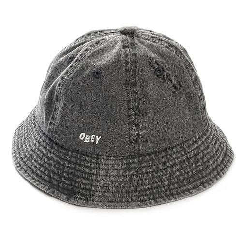 dff5682955a34 오베이 OBEY 모자 DECADES BUCKET HAT-BLACK ...