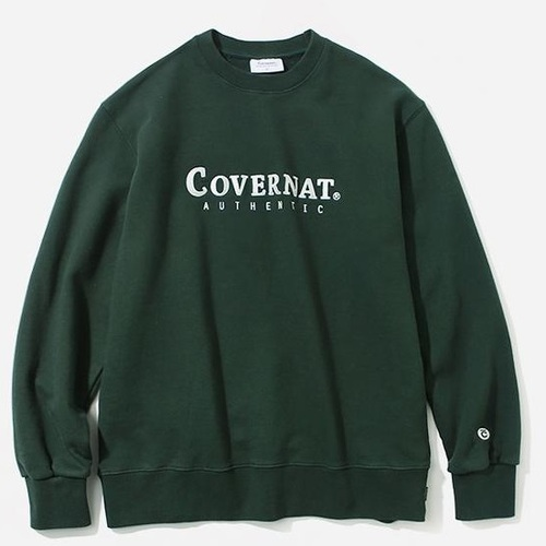 커버낫 크루넥_AUTHENTIC LOGO CREWNECK-GREEN