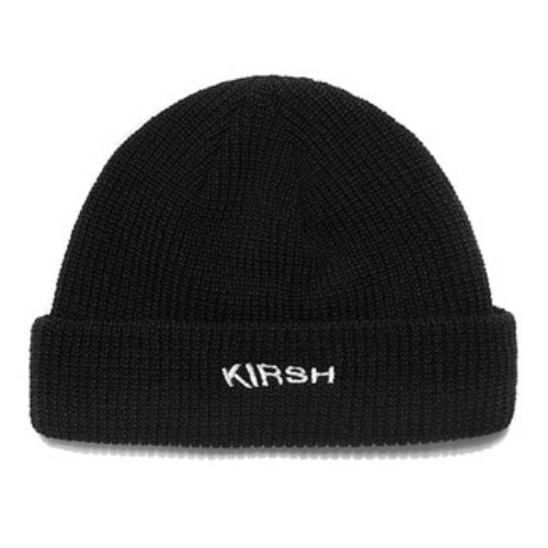 키르시 비니_BEANIE HAT HA-BLACK