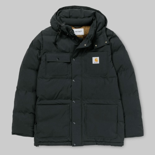 칼하트WIP 코트_ALPINE COAT-BLACK
