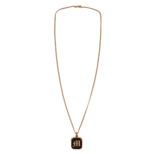 MISCHIEF 미스치프 목걸이_CLASSIC SQUARE FRAME NECKLACE-GOLD