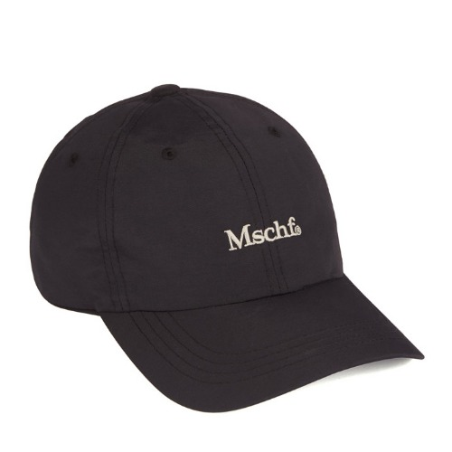 MISCHIEF 미스치프 모자_NYLON BALL CAP-BLACK