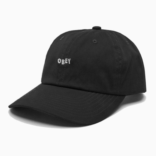 오베이 모자 CUTTY 6PANEL SNAPBACK-BLACK