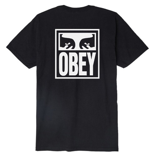 OBEY 오베이 반팔티_OBEY EYES ICON TEE-BLACK