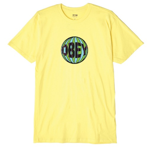 OBEY 오베이 반팔티_OBEY BALL TEE-LEMON