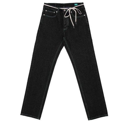 87MM 엠엠엘지 바지_STRAIGHR JEANS-ALMOST BLACK