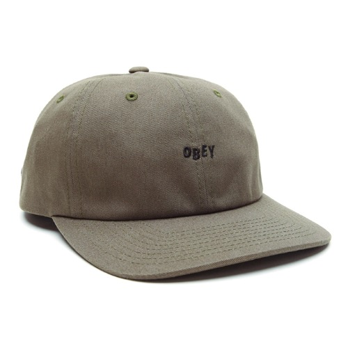 오베이 모자 CUTTY 6PANEL SNAPBACK-ARMY