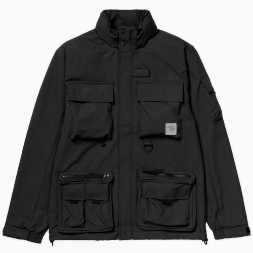 칼하트WIP 자켓 ELMWOOD JACKET-BLACK