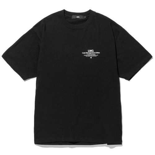 엘엠씨 반팔티 LMC INFLUENCER TEE-BLACK
