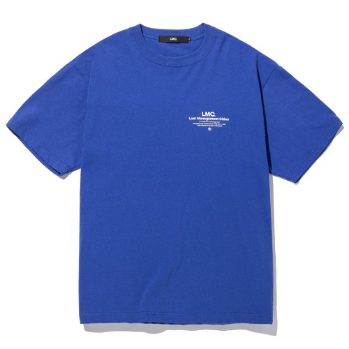 엘엠씨 반팔티 LMC INFLUENCER TEE-ROYAL BLUE