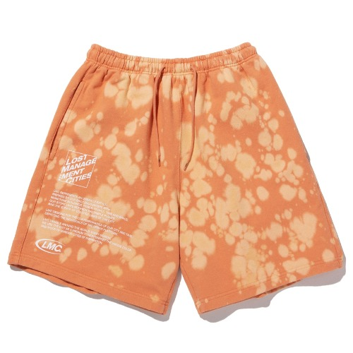 엘엠씨 반바지 LMC EXPL BLEACH SWEAT SHORTS-SAMLON