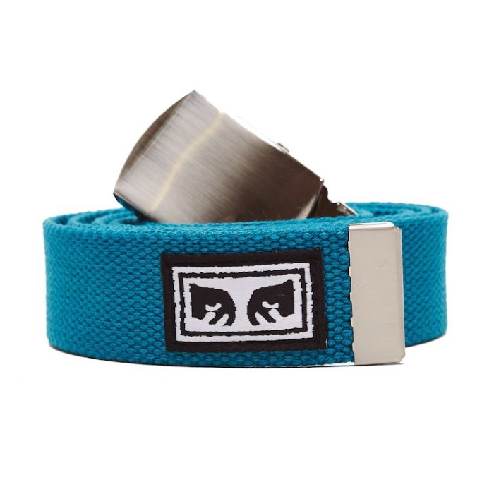 오베이 벨트 BIG BOY WEB BELT_BLUE GREEN
