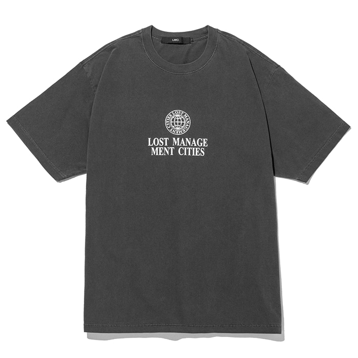 엘엠씨 반팔티 LMC OVERDYED CLASSIC WHEEL TEE-BLACK