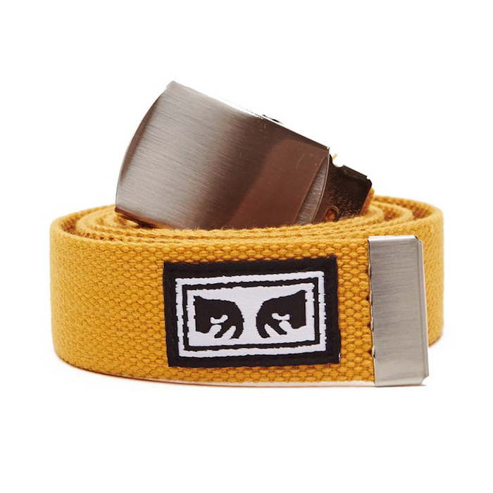오베이 벨트 BIG BOY WEB BELT_ENERGY YELLOW
