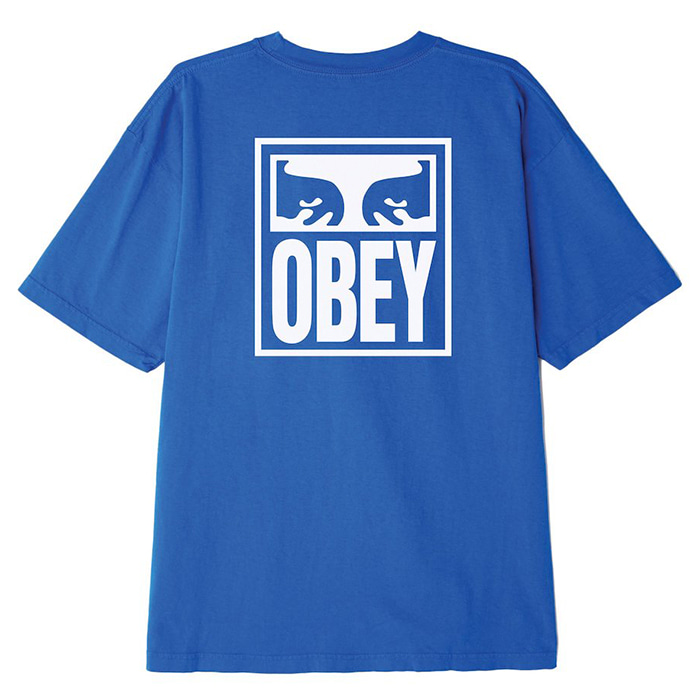 OBEY 오베이 반팔티_OBEY EYES ICON TEE-SKY AZURE