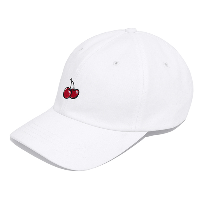 키르시 모자 CHERRY BALLCAP IH-WHITE