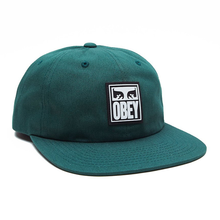 오베이 모자 VANISH 6PANEL SNAPBACK-DEEP GREEN