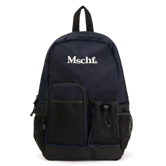 미스치프 백팩 MULTI-POCKET NYLON BACKPACK-NAVY