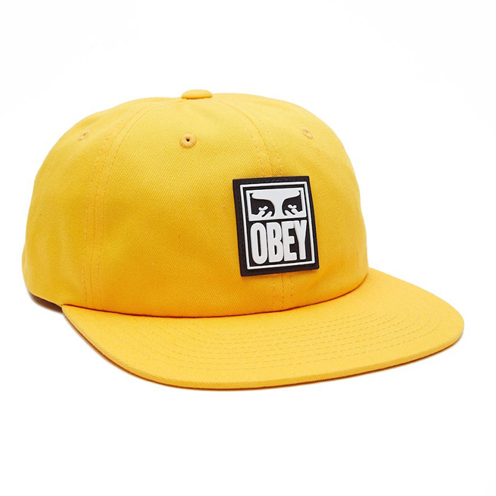 오베이 모자 VANISH 6PANEL SNAPBACK-ENERGY YELLOW