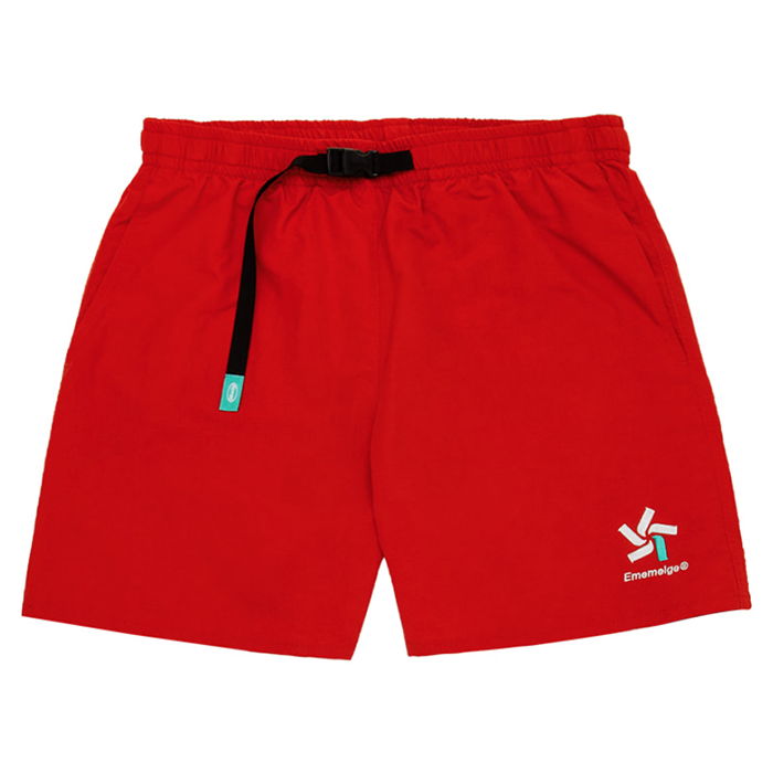 87MM 엠엠엘지 바지 S/B POOL PANTS-RED