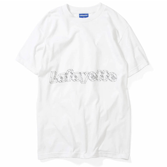 라파예트 반팔티 ARCHITECTURE LOGO TEE-WHITE
