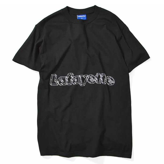 라파예트 반팔티 ARCHITECTURE LOGO TEE-BLACK