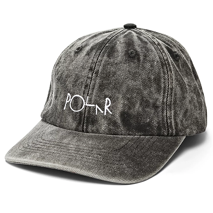 폴라 모자 POLAR DENIM LOGO CAP-BLACK