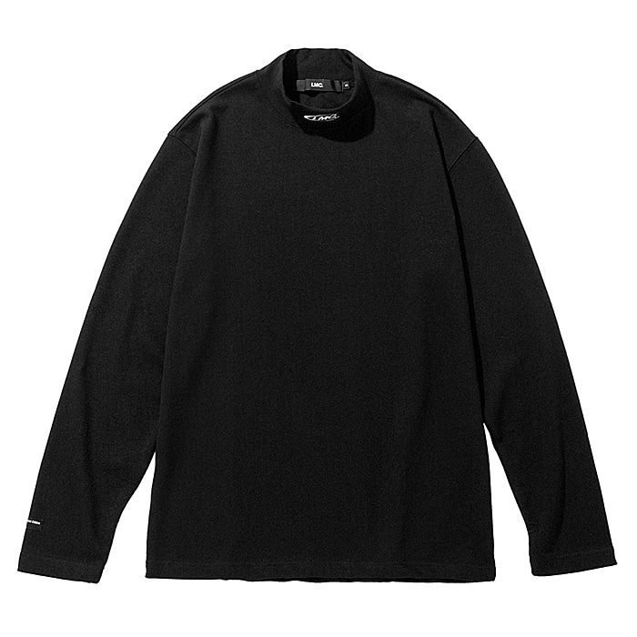 엘엠씨 긴팔티 LMC MOCK NECK LONG SLV TEE-BLACK
