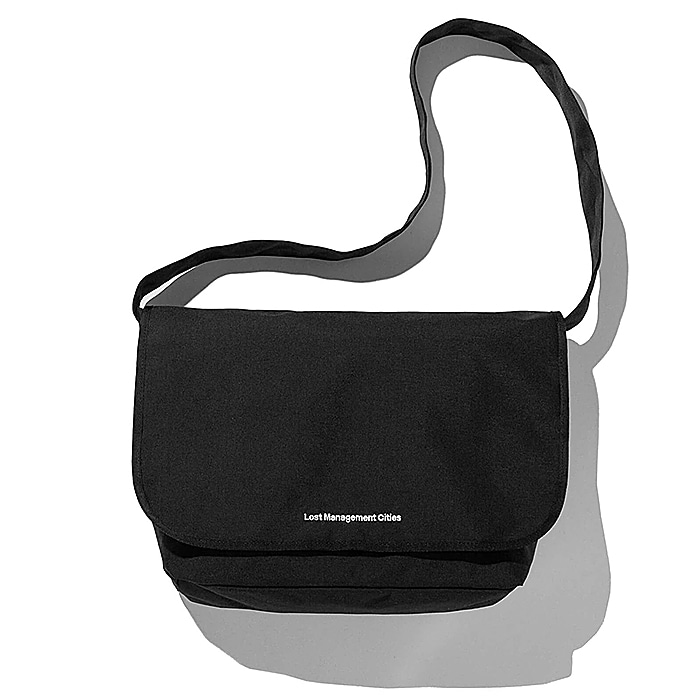 엘엠씨 웨이스트백 LMC SYSTEM MESSENGER BAG-BLACK