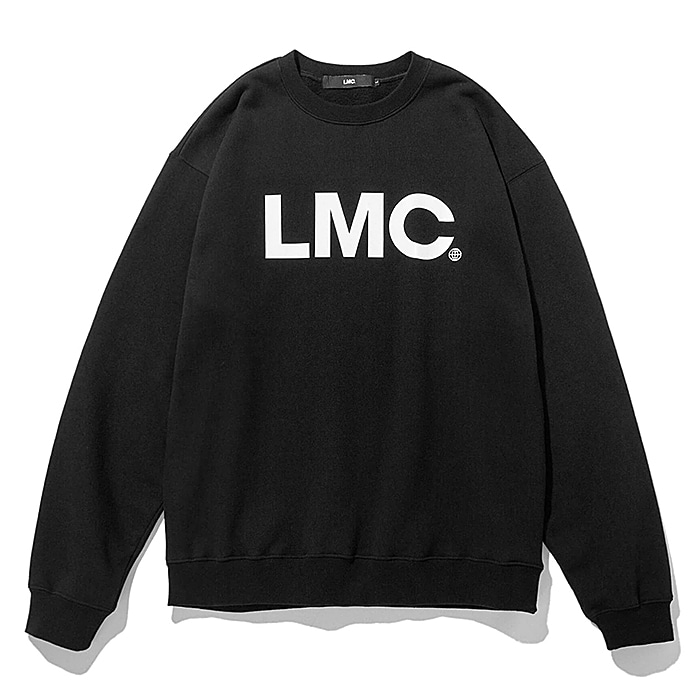 엘엠씨 크루넥 LMC OG WHEEL SWEATSHIRT-BLACK