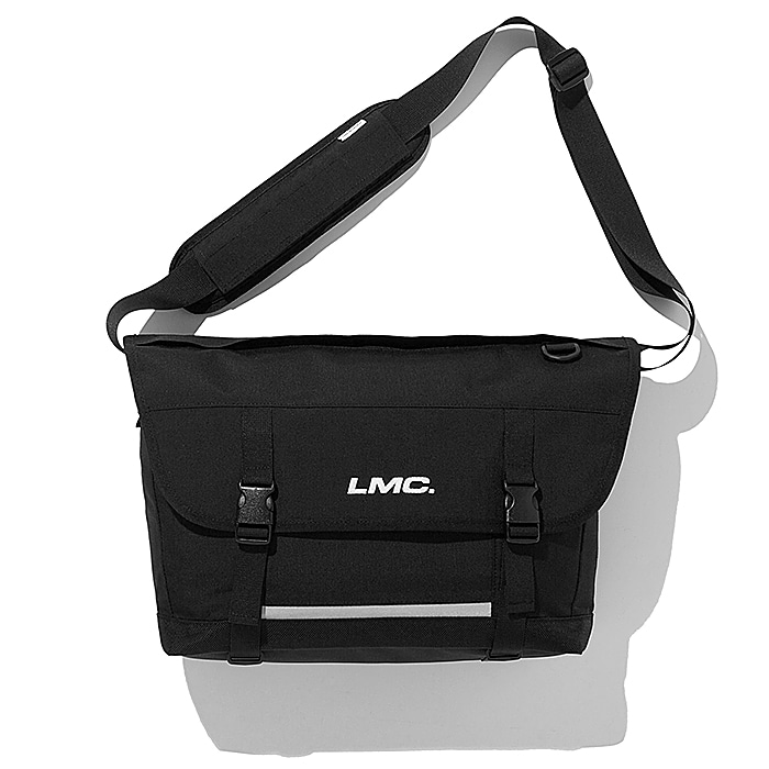 엘엠씨 메신져백 LMC SYSTEM UTILITY MESSENGER BAG-BLACK