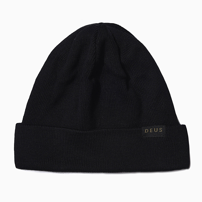 데우스 비니 RECORDS BEANIE-BLACK