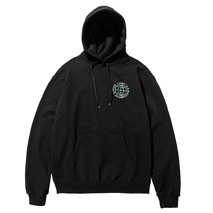 엘엠씨 후드티 LMC WAVED WHEEL HOODIE-BLACK
