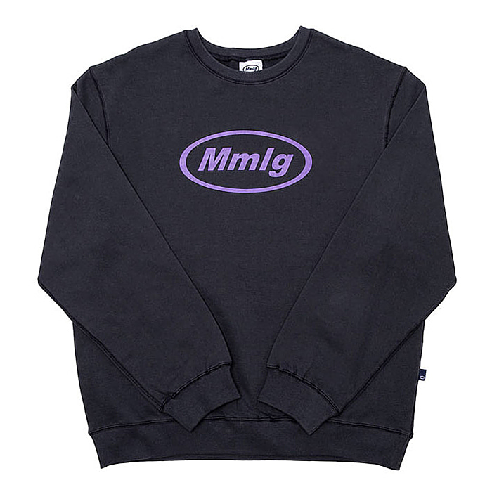 87MM 엠엠엘지 맨투맨 19FW MMLG SWEAT-GRAYSH NAVY