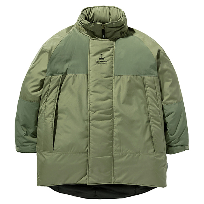 엘엠씨 패딩 LMC GLOBE MONSTER THINSULATE PARKA-OLIVE