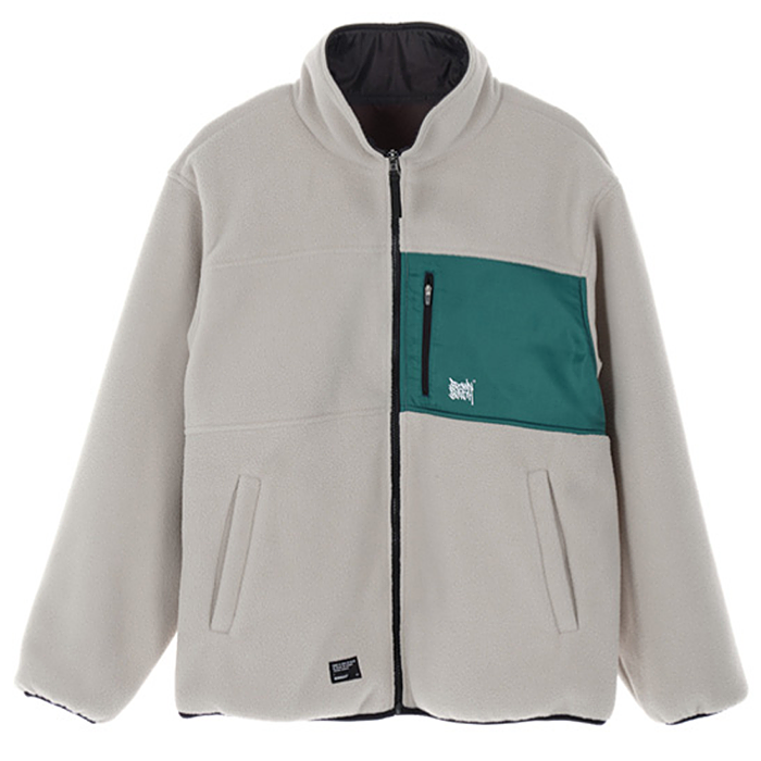 브라운브레스 자켓 TAG REVERSIBLE FLEECE JACKET-BEIGE