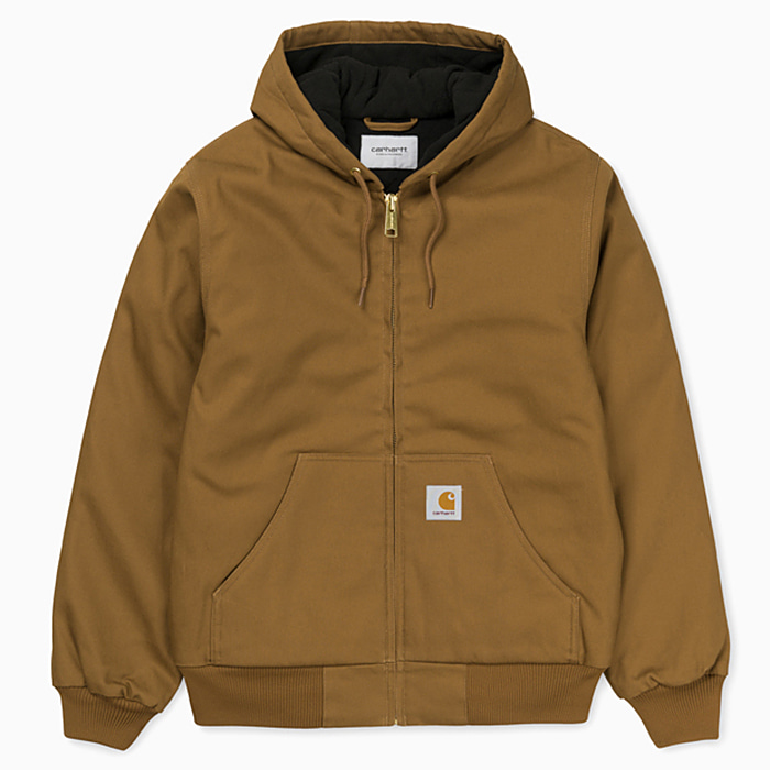 칼하트WIP 자켓 ACTIVE JACKET-HAMILTON BROWN