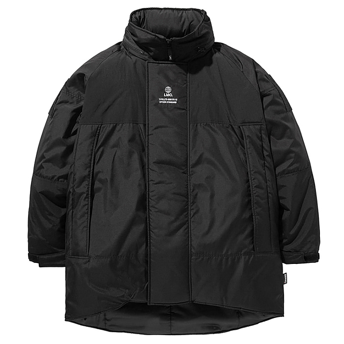 엘엠씨 패딩 LMC GLOBE MONSTER THINSULATE PARKA-BLACK