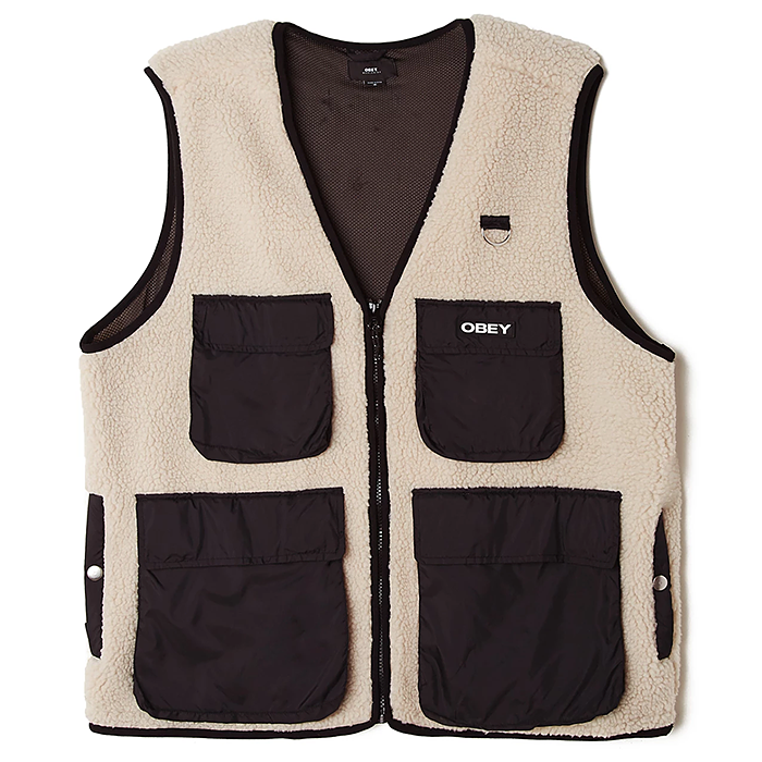 오베이 자켓 MOUNTAINEER VEST-NATURAL MULTI