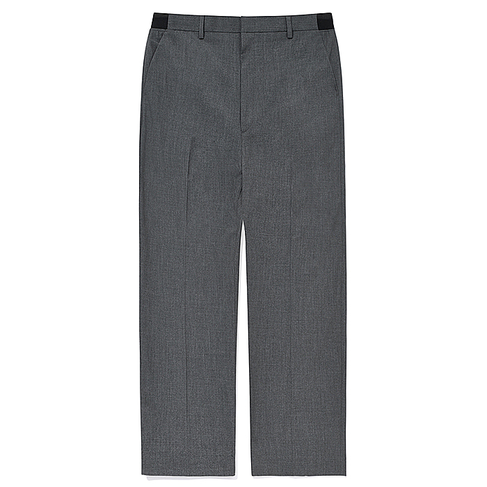파츠 슬랙스 CROP WIDE SLACKS JS(JSVP102)-GREY