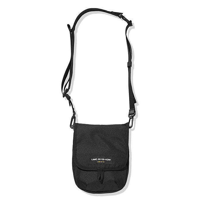 엘엠씨 가방 LMC SYSTEM MINI MUSETTE CROSS BAG-BLACK