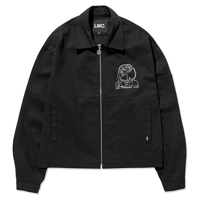 엘엠씨 자켓 LMC HBCT WORK JACKET-BLACK