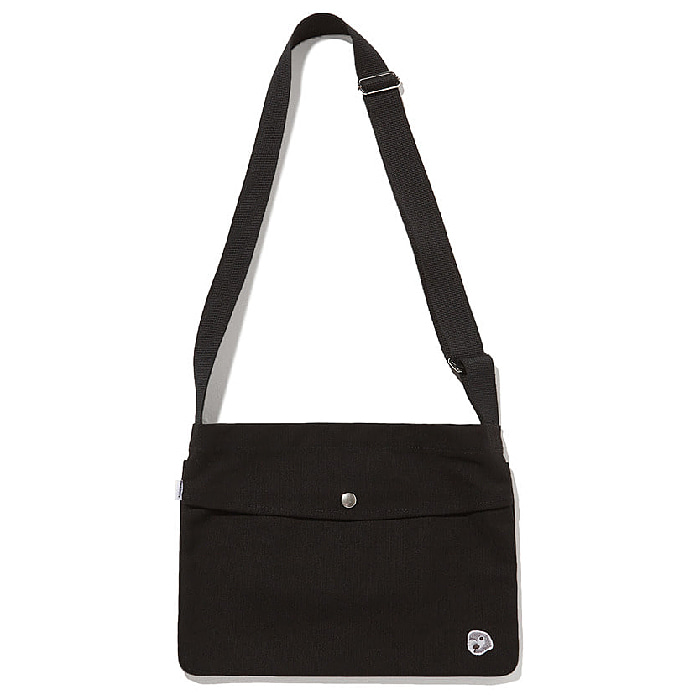 칸코 크로스백 KANCO CANVAS 3WAY CROSS BAG-BLACK