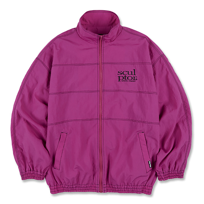 스컬프터 자켓 TRIPLE STITCHED WINDBREAKER-FUCHSIA