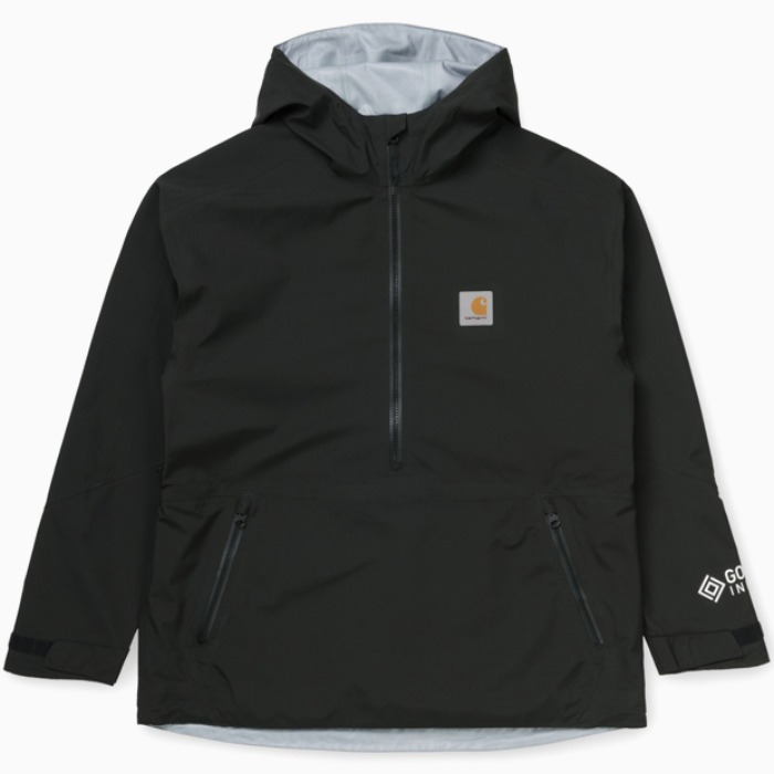 칼하트WIP 자켓 GORE TEX POINT PULLOVER-BLACK