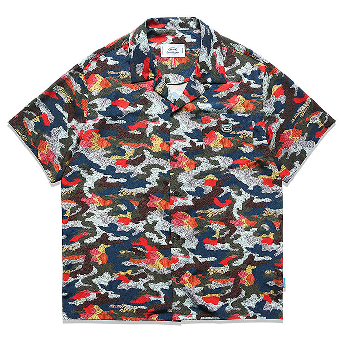 87MM  엠엠엘지 셔츠 JEFF SHIRT-MULTI COLOR