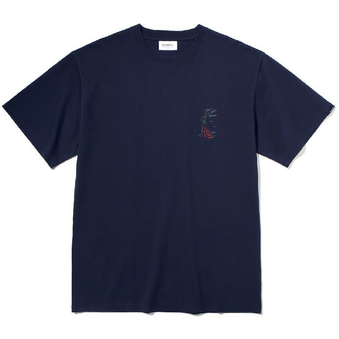 커버낫 반팔티 S/S HULA GIRL TEE-NAVY