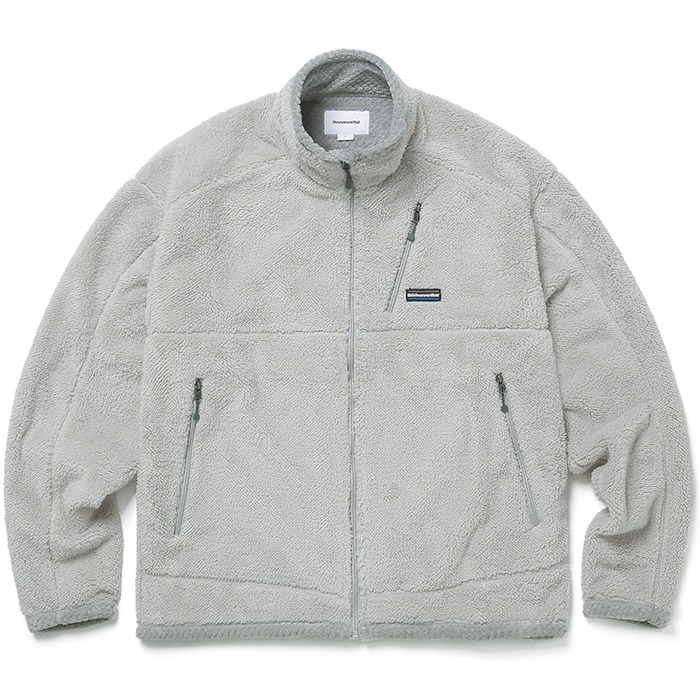 디스이즈네버댓 자켓 HIGH LOFT FLEECE JACEKT-WARM GREY