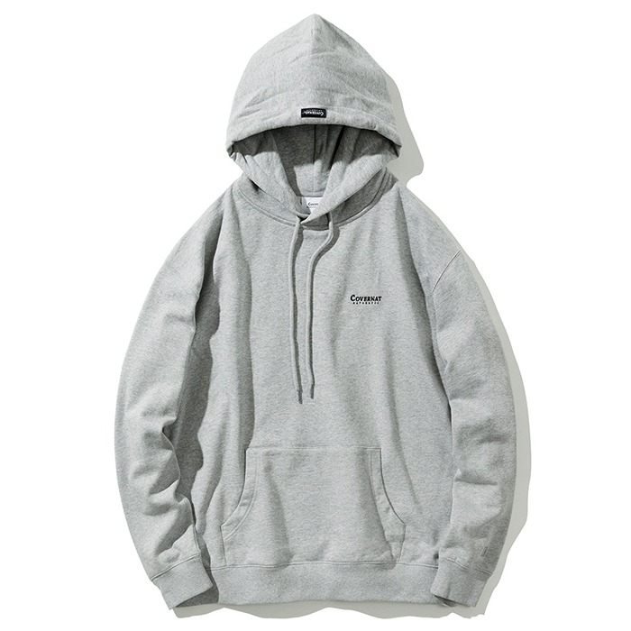 커버낫 후드티 SMALL AUTHENTHIC HOODIE-GREY