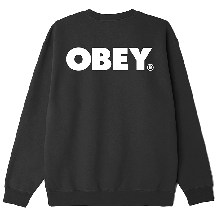 오베이 OBEY BOLD SWEAT-BLACK